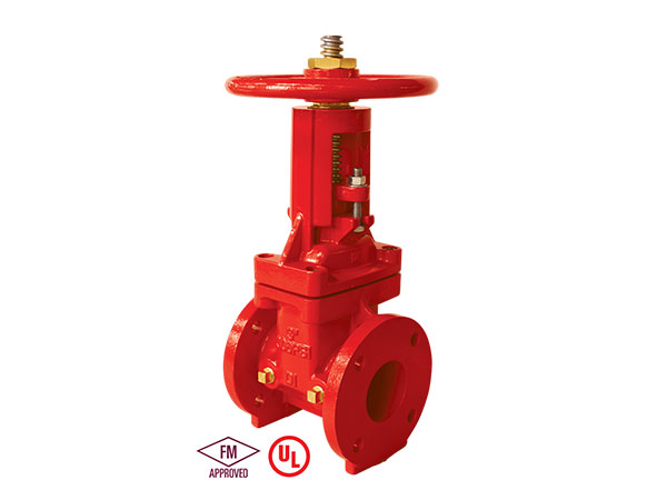 Fire fighting  FM/UL/ULC Standard 300PSI Gate Valve  fire protection OSY Rising stem Flanged End