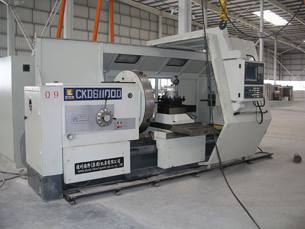 Large fine machining equipment (processing diameter: 1.2m)